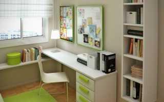 Освещение стола школьника: советы на фото