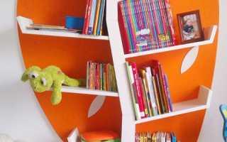 Идеи полок для детской: подборка фото