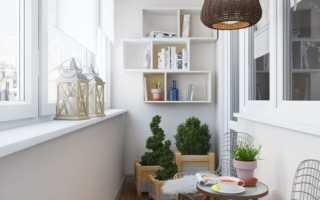 Балкон в скандинавском стиле: фото интерьеров