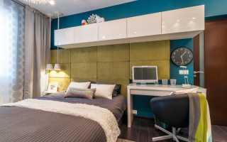 Дизайн маленьких спален с рабочим местом: фото