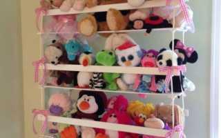 Хранение мягких игрушки: советы на фото