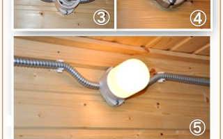 Светильники для бани и сауны: выбор подходящих + изготовление своими руками