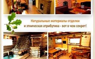 Интерьер внутри настоящей русской бани — дизайн-идеи и примеры