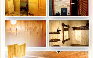 Фото отделки интерьеров предбанников: примеры дизайна и оформления