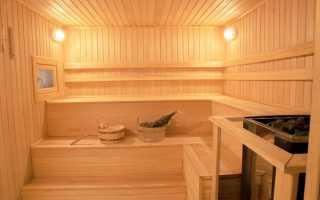 Интерьер помывочной в бане — фото-идеи